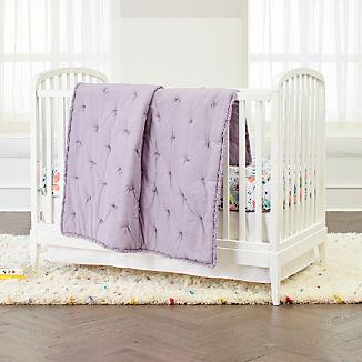 Dutch Floral Crib Bedding