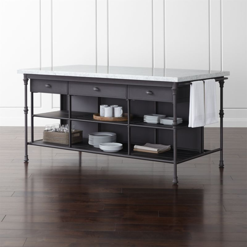 Pin It French Kitchen 72 Large Kitchen Island
