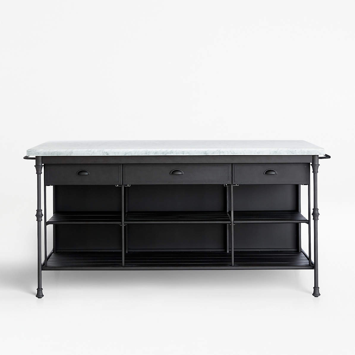 Picture of: French Kitchen 72 Large Kitchen Island Reviews Crate And Barrel