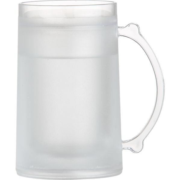 Frosty Clear Acrylic Mug