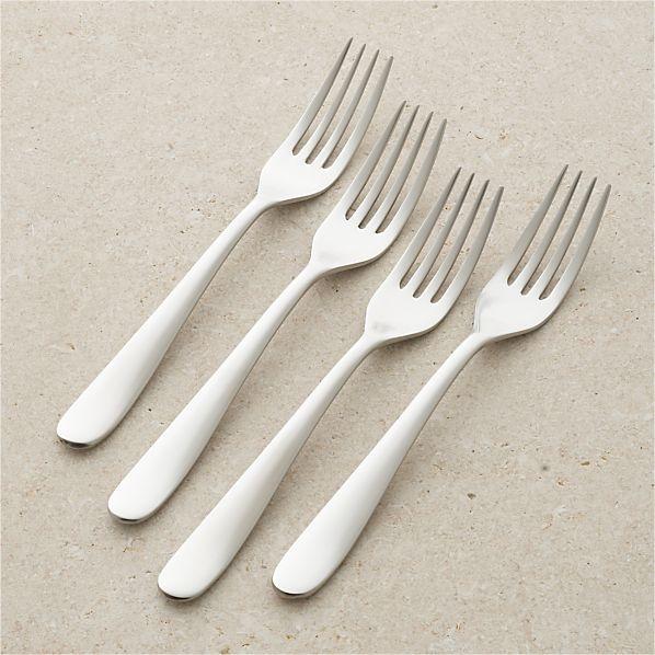 Set of 4 Fusion Dinner Forks