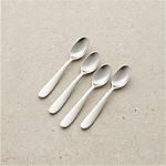 Set of 4 Fusion Espresso Spoons