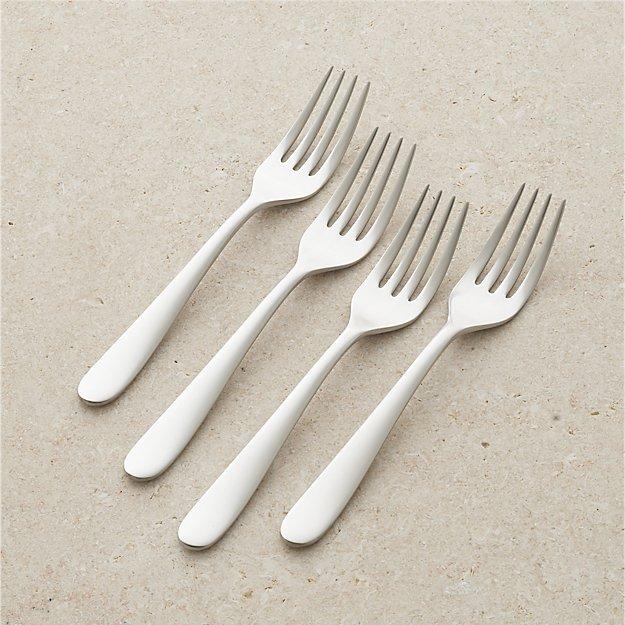 Set of 4 Fusion Salad Forks - Image 1 of 7