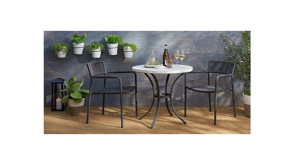hexa bistro table