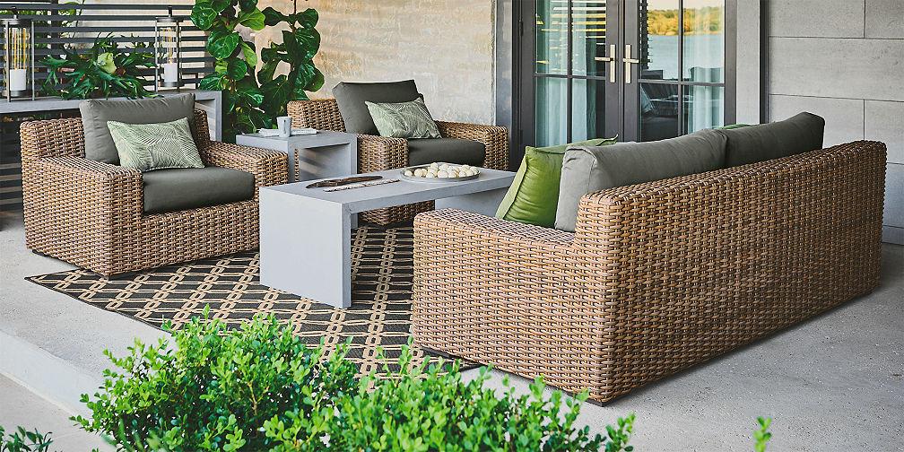 outdoor furniture sets crate and barrel. Black Bedroom Furniture Sets. Home Design Ideas