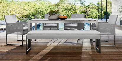 Amazing Outdoor Patio Dining Furniture Crate And Barrel Download Free Architecture Designs Rallybritishbridgeorg