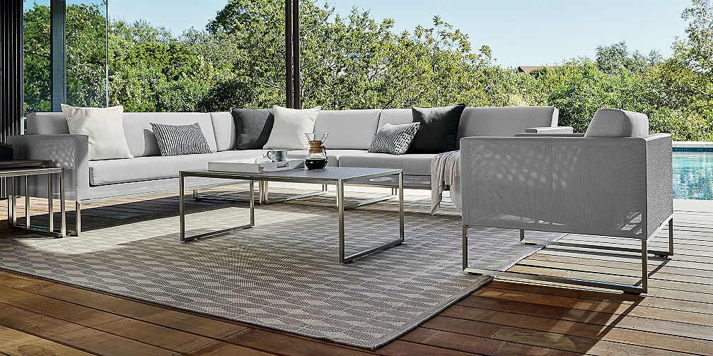 Save Money on Outdoor Furniture Sets Crate and Barrel