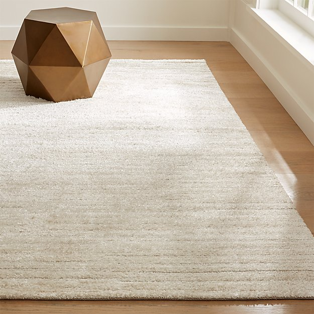 Gabor 8x10 Ivory Chenille Rug Reviews Crate And Barrel