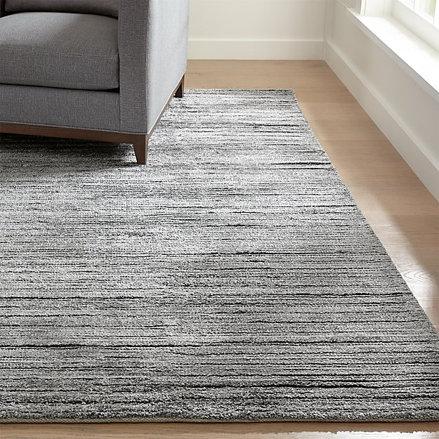 Gabor Pewter Hand Woven Rug - Image 1 of 2