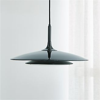 Gage Black Metal Pendant Lamp