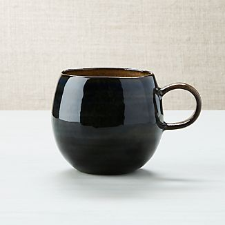Gallery Blue And Brown Mug