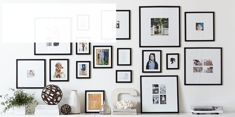 Gallery Wall Ideas Black And White : Gallery wall ideas crate and barrel