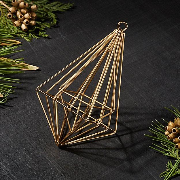 Gallet Double Drop Ornament