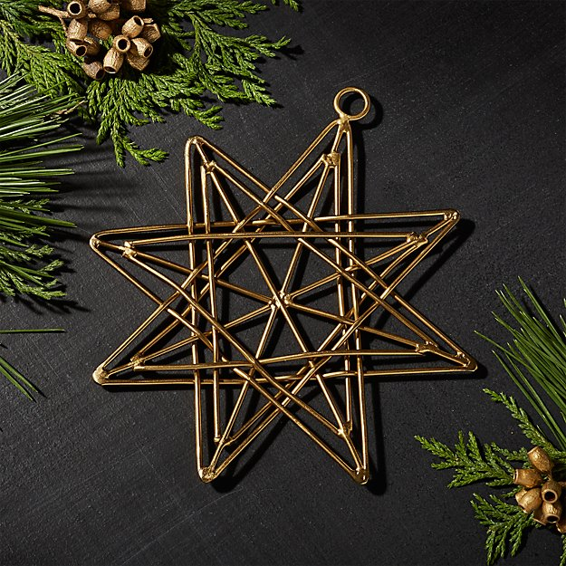 Gallet Large Layered Star Ornament