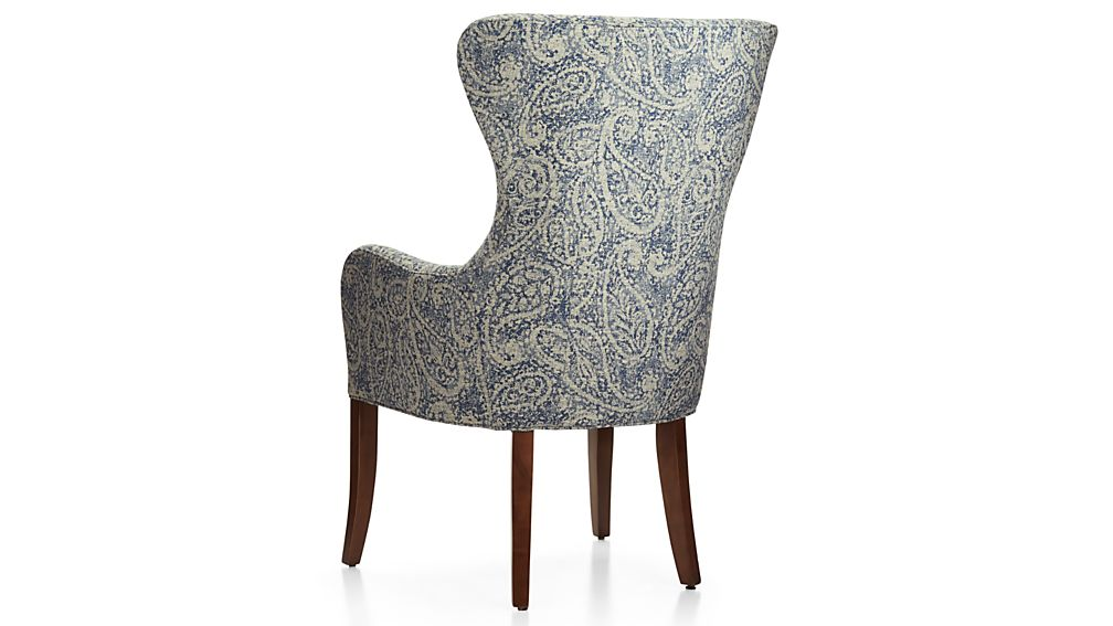 Galloway Paisley Wingback Dining Chair