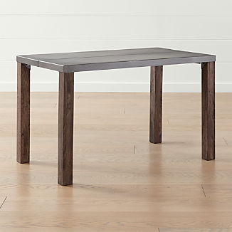 Galvin 48 Metal Top Dining Table