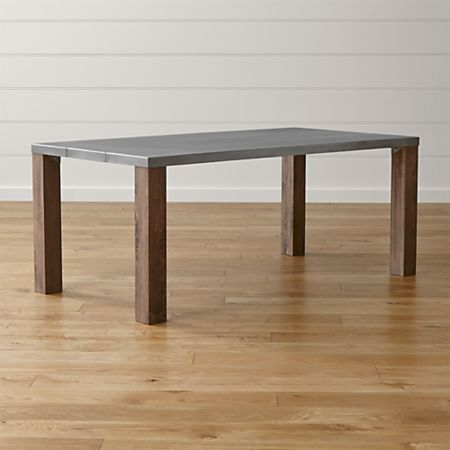 Galvin Metal Top Dining Table