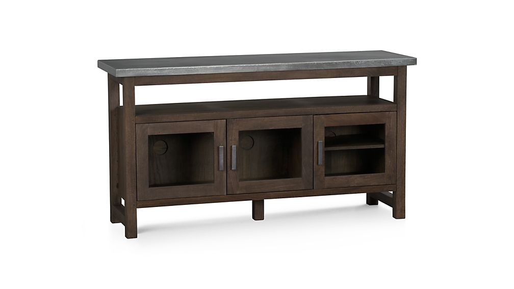 Galvin Metal Top Sideboard In Buffets Sideboards Reviews