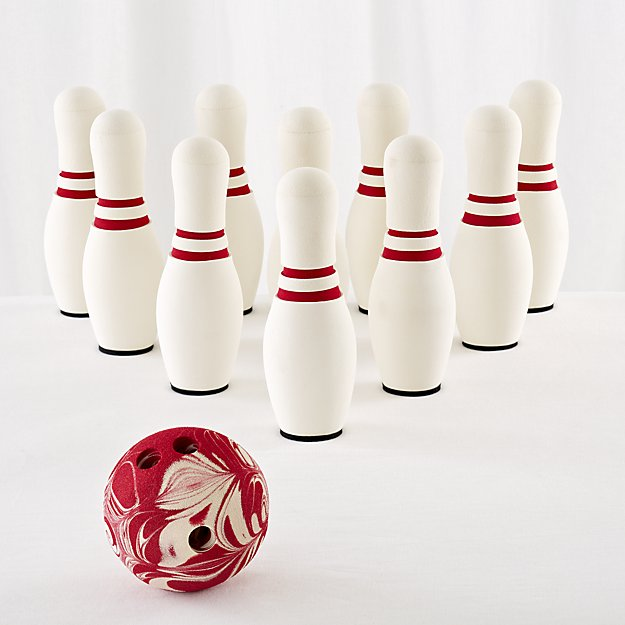 Indoor Bowling Set Reviews Crate And Barrel