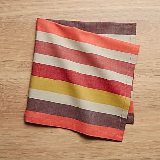 Garner Stripe Dinner Napkin