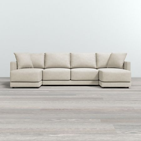 Gather 3 Piece Double Chaise Lounge