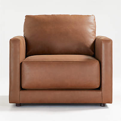 View testGather Leather Chair