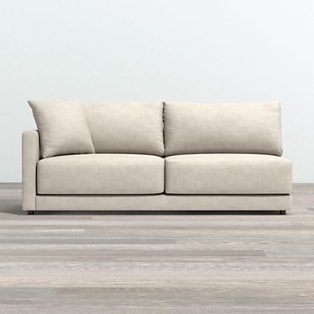 Gather Pee Left Arm Sofa Crate And