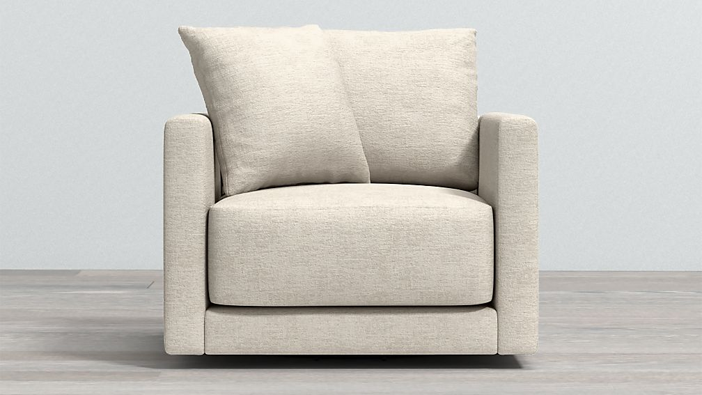 Gather Petite Swivel Chair - Image 1 of 5