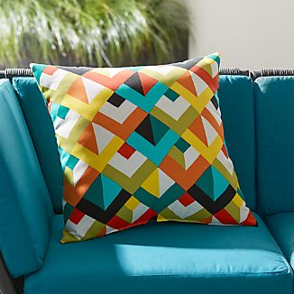 "Gems 20"" Sq. Outdoor Pillow"