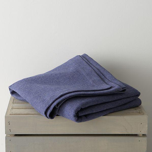 Geneva Blue Twin Blanket