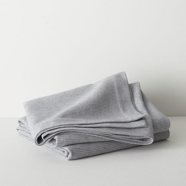 Geneva Grey King Blanket