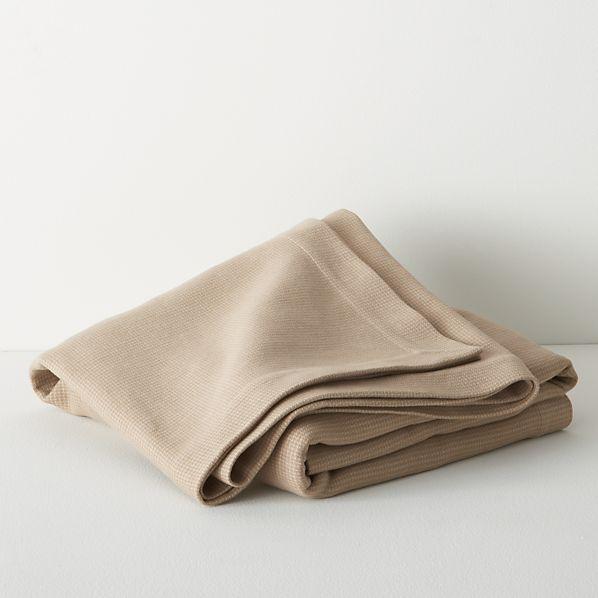 Geneva Wheat Twin Blanket