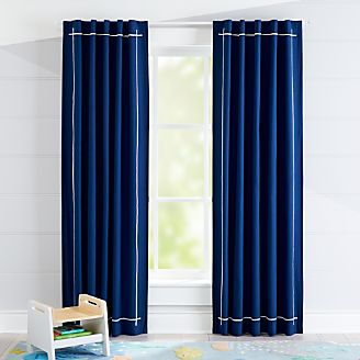 Genevieve Gorder Navy Blackout Curtain