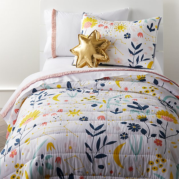 Genevieve Gorder Floral Bedding Crate And Barrel