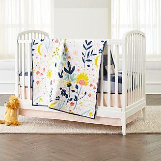 Genevieve Gorder Floral Crib Bedding 3 Piece Set