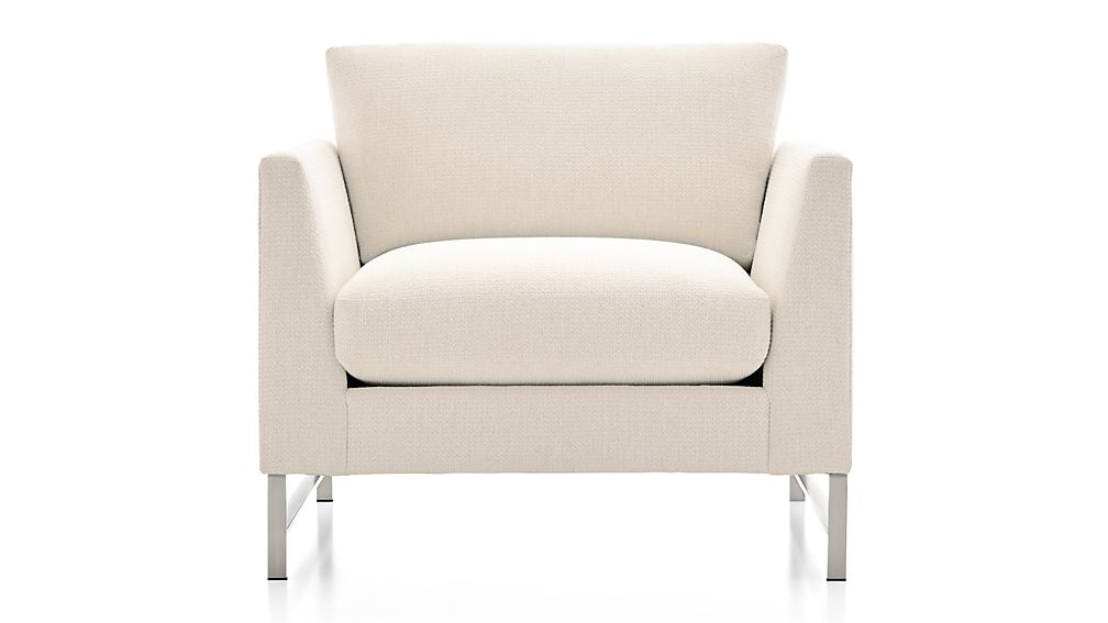 Genesis Chair with Brushed Stainless Steel Base
