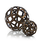 Geo Decorative Metal Balls