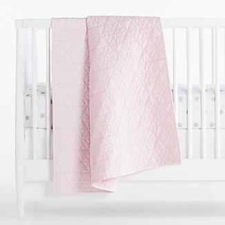 Silver Dot Baby Bedding