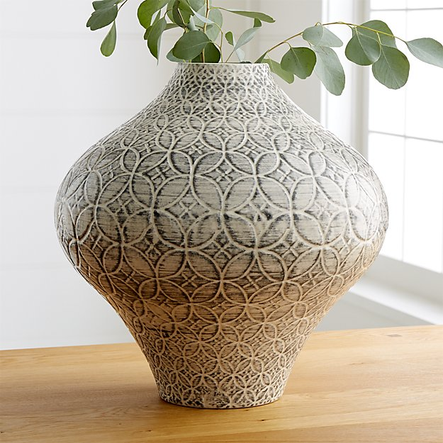 Geo Vase Reviews Crate And Barrel
