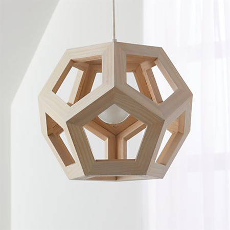 Wood Geometric Pendant Light Reviews