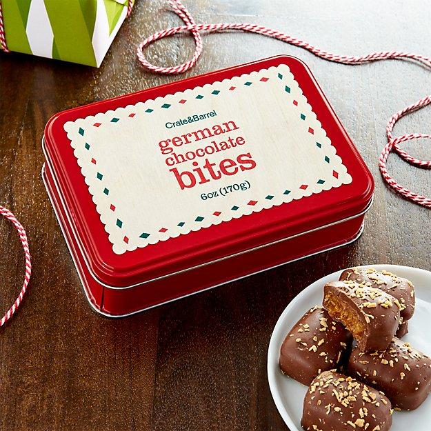 German Chocolate Bites