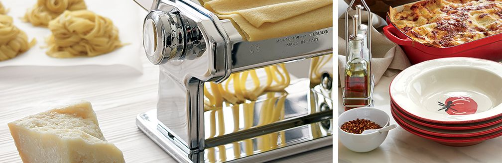 Atlas Pasta Maker and Pasta Bowls