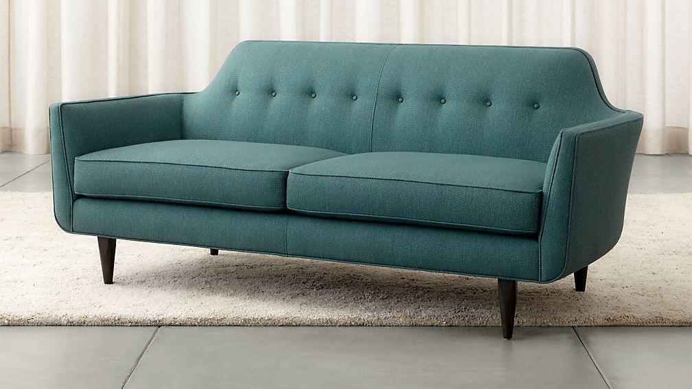 Gia Button Tufted Apartment Sofa