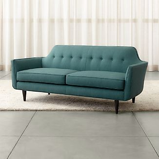 Mid Century Modern Couches Crate and Barrel