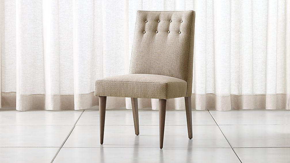 Gia Button Tufted Dining Chair - Image 1 of 6