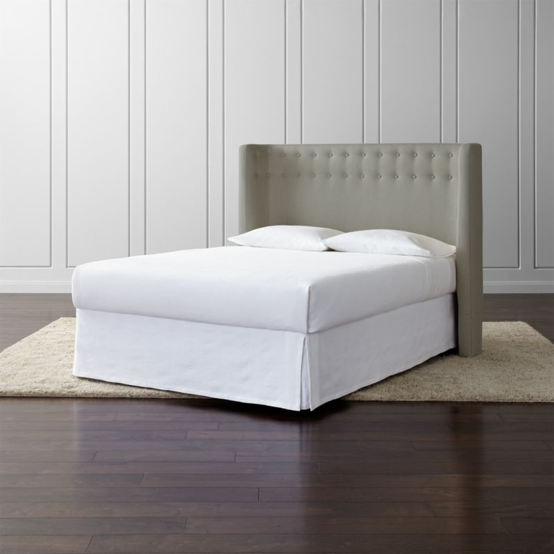 Gia Upholstered Headboard | Crate and Barrel