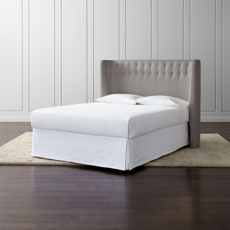pin it gia upholstered headboard - Bed Frames And Headboards