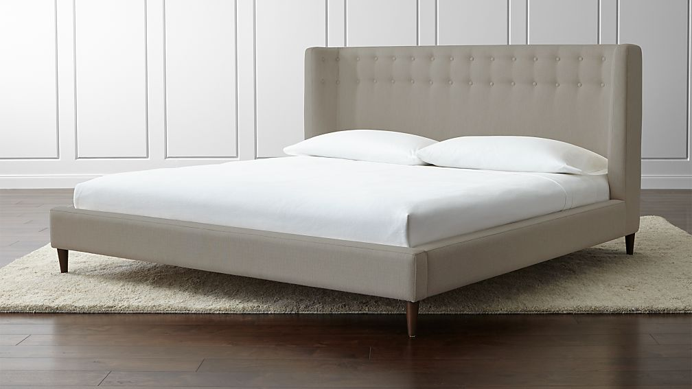 Gia Upholstered King Bed - Image 1 of 7