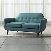 Amazing Loveseats Made In Usa Crate And Barrel Ibusinesslaw Wood Chair Design Ideas Ibusinesslaworg