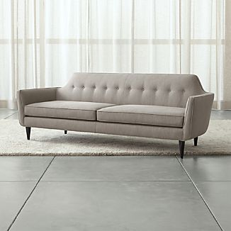 Superbe Gia Button Tufted Sofa